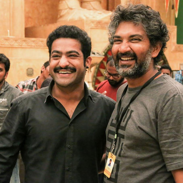 Get ready for a treat today by SS Rajamouli and Jr.NTR