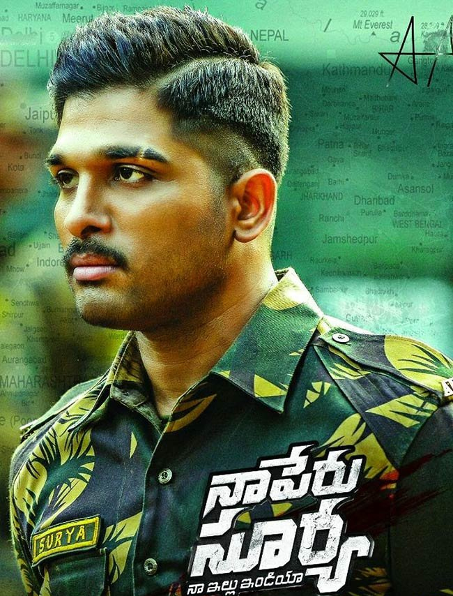 Naa Peru Surya Naa Illu India Allu Arjun Shooting In 12 Degrees