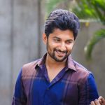 Natural Star Nani's fans gathered in hundreds in Midnight to wish him happy birthday