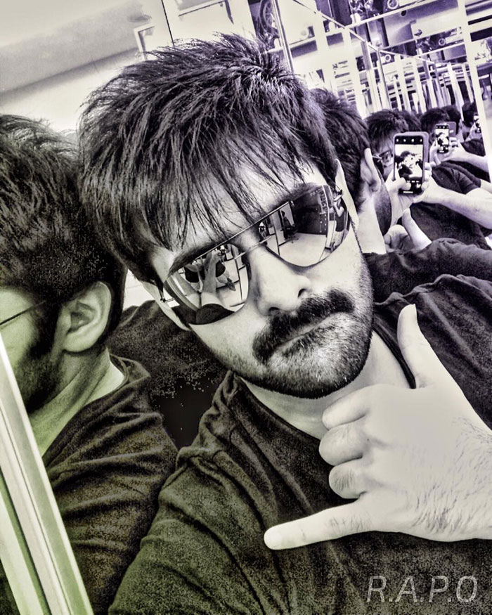 Ram16 : New look of Ram Pothineni for Dil Raju's project