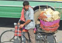 Star Hero spotted selling Papads on the streets of Jaipur