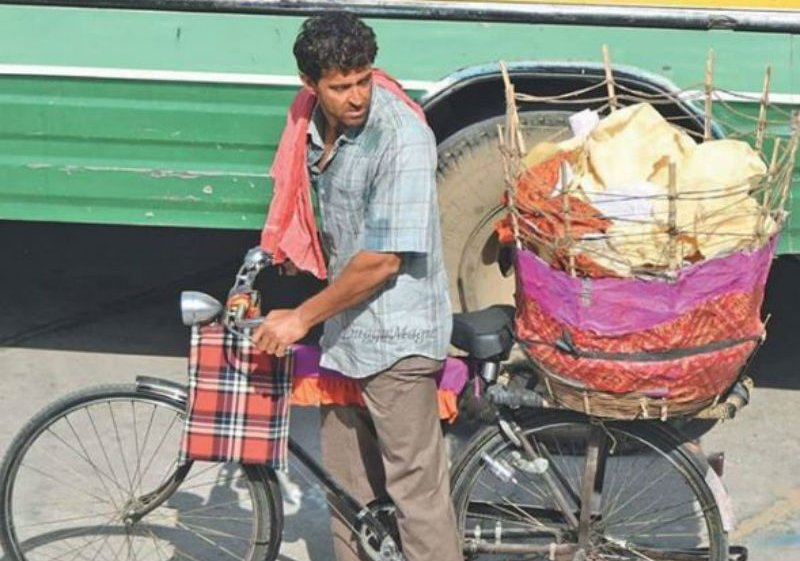 Hrithik shares pick of him selling papad in the streets of Rajasthan