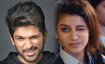 In Owe allu arjun in awe of prakash varrier