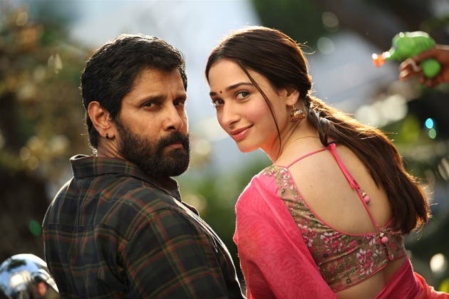 Vikram and Tamannah's Sketch 1st Weekend Box Office Collections