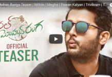 Nithiin Chal Mohan Ranga Teaser