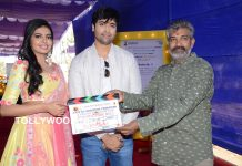 Adivi Sesh and Shivani Movie Opening Stills