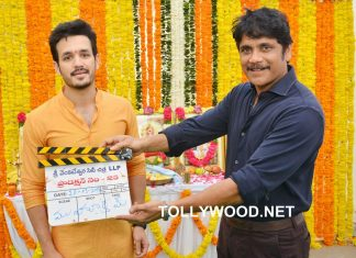 Akhil Akkineni New Movie Opening Stills