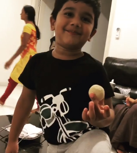 Allu Arjun Son Allu Ayaan wants Ranga Ranga Rangasthalana Song