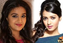 Keerthy Suresh and Catherine Tresa in Ravi Teja and Santosh Srinivas's film