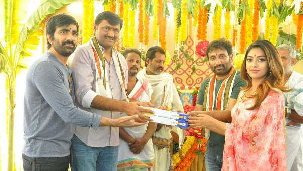 Mass Maharaja Ravi Teja and Srinu Vaitla's film launched!