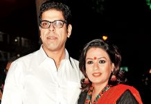 Murali Sharma and his wife Aswani Kalsekhar in Puri Jagannadh's Mehbooba