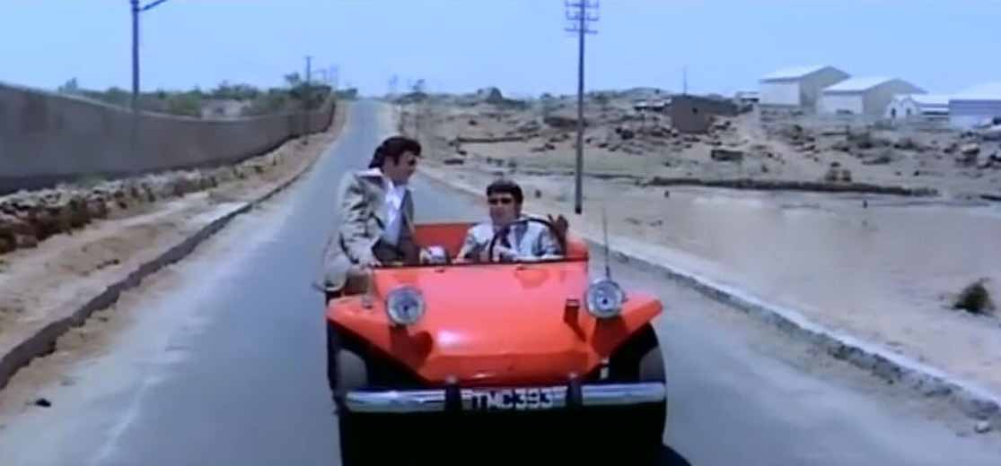 NTR & ANR's shocking ride at Jubilee hills @40 years ago
