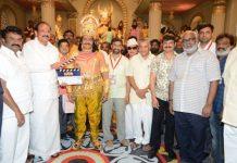 NTR biopic officially launched! Nandamuri Balakrishna dresses up as Duryodhana