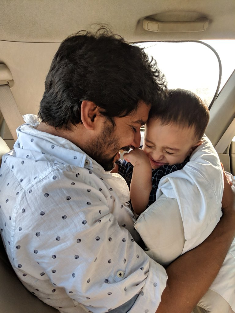 Natural Star Nani wishes his son Arjun on his first birthday