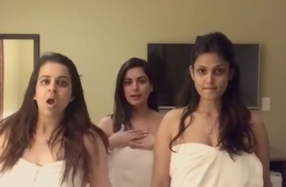 Shraddha-Arya's-dances-in-towel-doesn't-go-as-expected