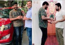 Suriya gifts new car to director Vignesh Shivn