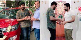 Suriya gifts new car to director Vignesh Shivn