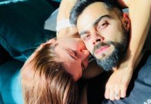 Anushka Sharma and Virat Kohli's Kissing picture is going viral