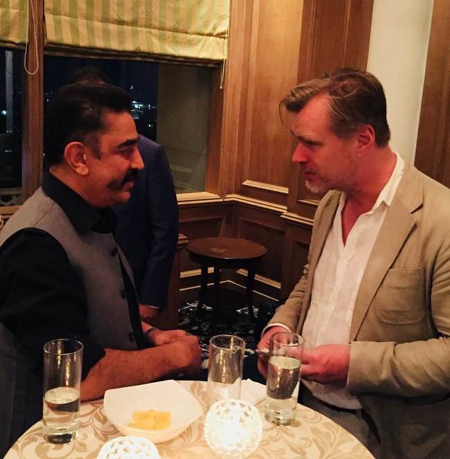 Why did  Kamal Haasan apologize Dark Knight and Dunkirk director Christopher Nolan?
