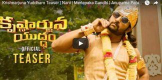 Nani's Krishnarjuna Yuddham Teaser Talk
