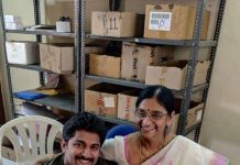 Nani's emotional message on his mother's last day at work