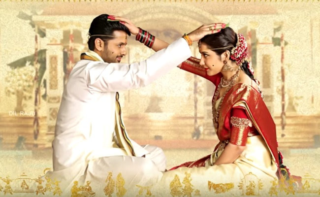 First Look of Srinivasa Kalyanam: Nithiin and Raashi Khanna exchange wedding wow