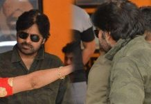 Allu Arjun supports Pawan Kalyan at Film Chamber