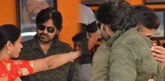 Allu Arjun supports Pawan Kalyan at Film Chamber