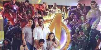 Allu Arjun's son Allu Ayaan watches Avengers Infinity War