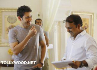 Bharat Ane Nenu Movie Working Stills