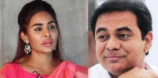 Casting Couch: Sri Reddy in begging mode for the appointment of IT Minister KTR