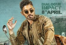 Dialogue impact of Allu Arjun's Naa Peru Surya to be out on 8th April