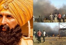 Fire breaks out during shooting of climax scene in Akshay Kumar film in Maharashtra