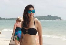 Hotness Alert! Chiranjeevi's Ratthaalu turns on the heat as she poses in black bikini