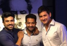 Mahesh Babu, Ram Charan and J.NTR in one frame: Tollywood stars Bonding