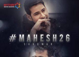#Mahesh26: Mythri Movie Makers announce their project with Mahesh Babu and Sukumar
