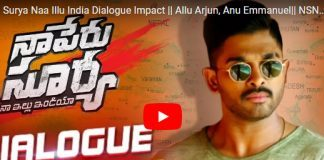 Naa Peru Surya's Dialog Impact packs a solid punch