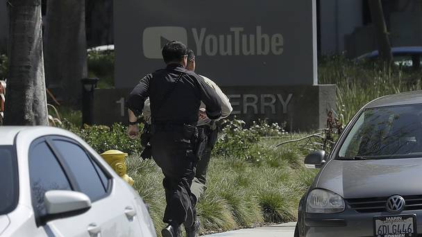 One dead, four injured in shooting at YouTube headquarters