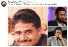 Pawan Kalyan says: TV9 owner Srin Raju, TV9 CEO Ravi Prakash and RGV helped TDP bosses to get my mother abused in public