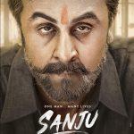 Sanju Poster Ranbir Kapoor's new look as Sanjay Dutt is unbelievable