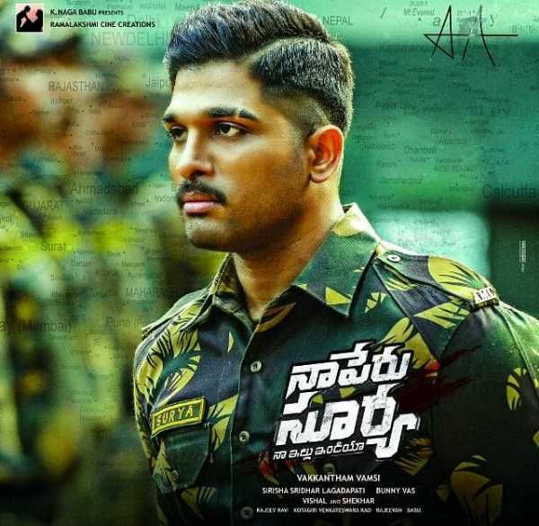 'Naa Peru Surya' trailer is intense