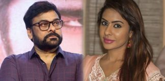 Sri Reddy's controversial comments on Mega star Chiranjeevi