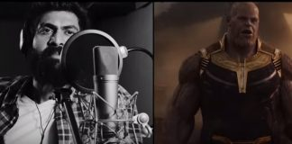 Watch Rana Daggubati as Thanos in Avengers Infinity War in this BTS Video