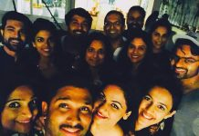Allu Arjun parties with Ram Charan and Upasana
