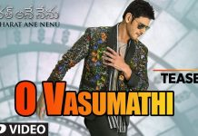 Bharat Ane Nenu O Vasumathi Video Song Teaser,O Vasumathi Video Song Teaser