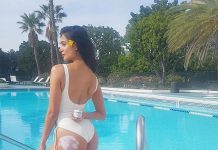 Panjaa lady too hot in swimsuit