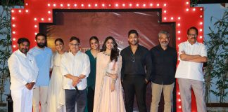 Allu Aravind felicitation to Mahanati Team