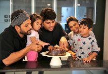 Allu Arjun birthday wishes to his first baby