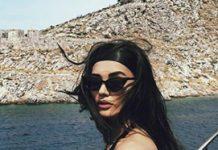 Amy Jackson poses in bold avatar in black bikini