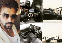 Arun Vijay leaks Super Cars pics from Prabhas Saaho Abu Dhabi Sets